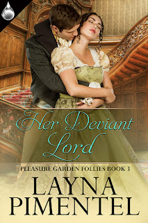 Her Deviant Lord by Layna Pimentel, Liquid Silver Books April 2016, Wicked Smart Designs-Cover Artist