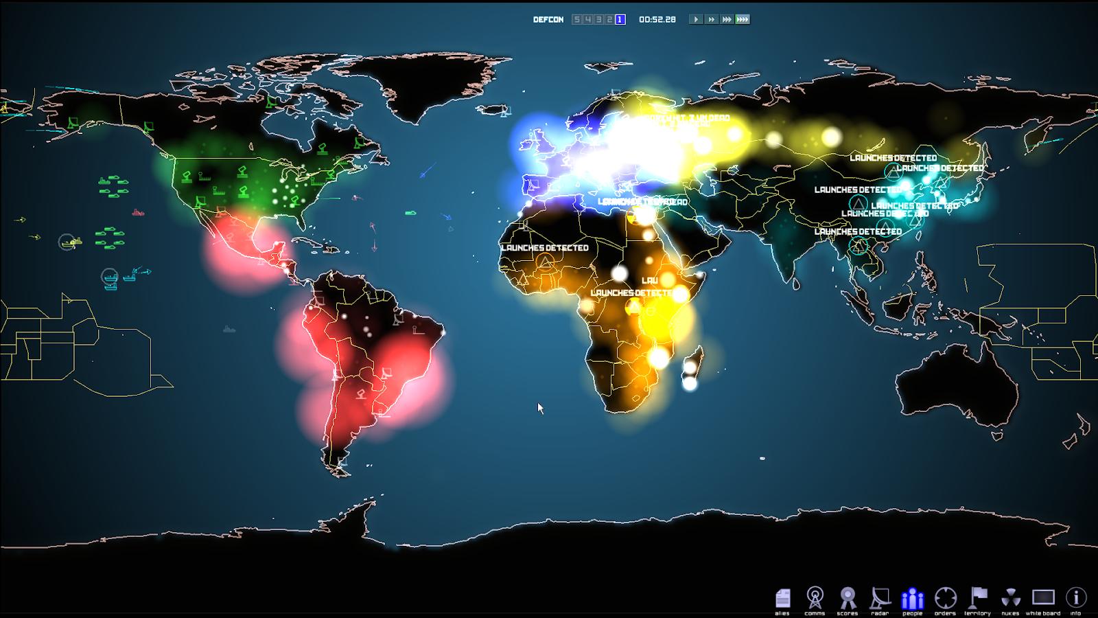 Defcon Game Mods: Defcon PC Game Mods