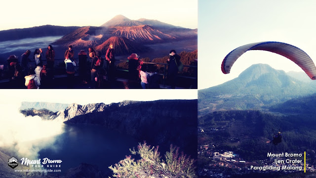 Mount Bromo, Ijen Crater, Paragliding tour 4 days 3 nights
