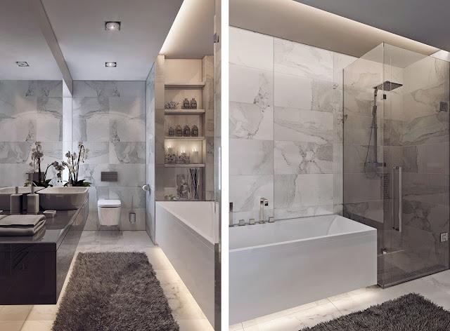 Latest Design Of Bathroom Tiles