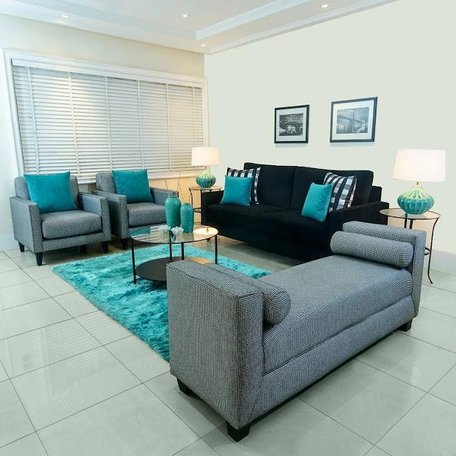 Model Sofa Minimalis Warna Hijau Terbaru