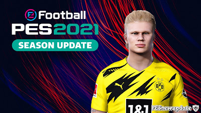 PES 2021 Faces Erling Haaland by VN HUY BUI