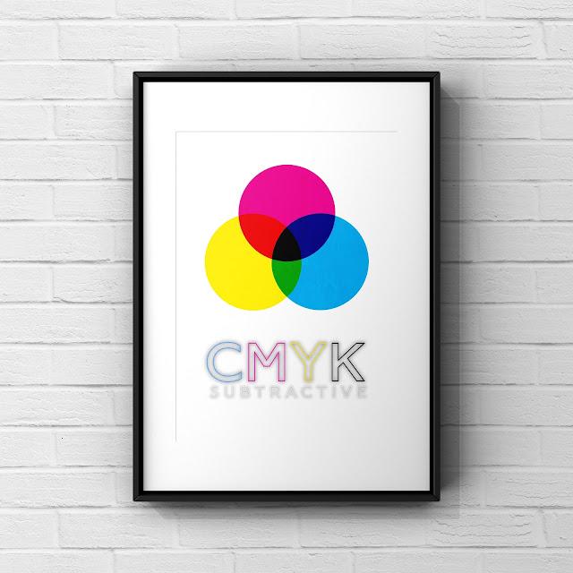 CMYK colour model by Mark Taylor