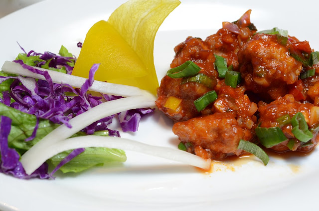 Chicken Manchurian recipe or recipe of chicken manchurian