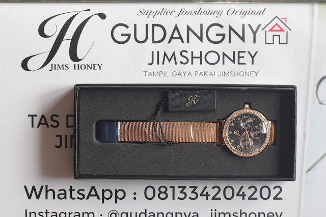 Real Pict Jam Tangan Jims Honey Timepiece 8126