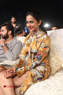 Actress Rakul Preet Singh Stills in Short Dress at Dhruva Pre Release Function  0074.JPG