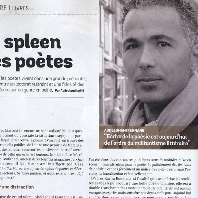 تجربة الشاعر عبد الغني فنان قراءة وتحليل للأستاذ الباحث محمد البخاري