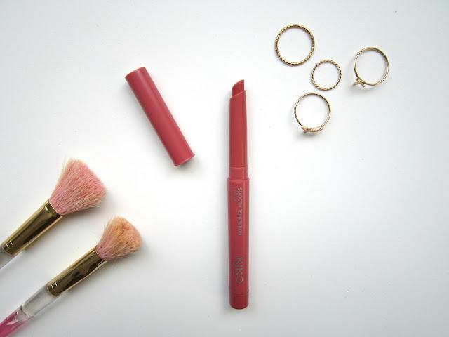 Kiko Smooth Temptation Lipstick | Review