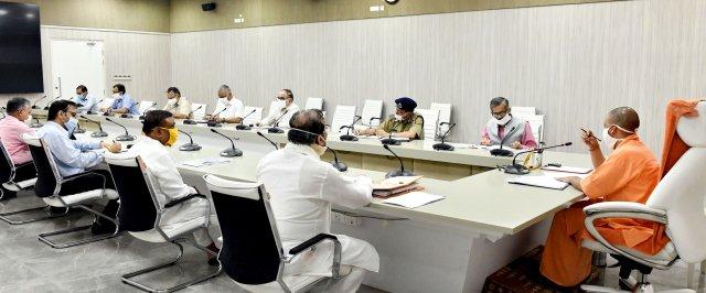 अनलॉक -3 के सम्बन्ध में भारत सरकार की गाइडलाइन्स के क्रम में प्रदेश शासन के निर्देशों का सख्ती से पालन कराया जाए -मुख्यमंत्री योगी