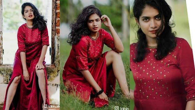 Anarkali Marikar Latest Hot Photoshoot in Red Dress