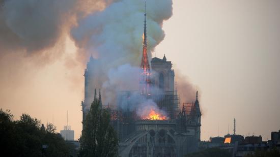 2019 yılında Paris'te çıkan yangında yanan katedralin adı?