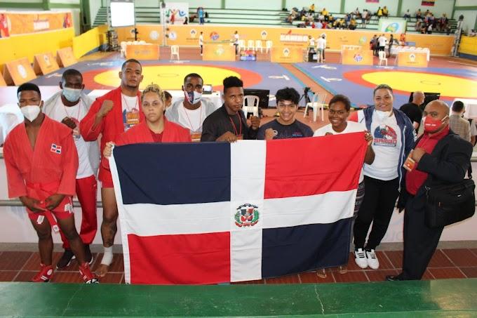 SAMBO Dominicano obtiene10 medalla más en Colombia, suma 18