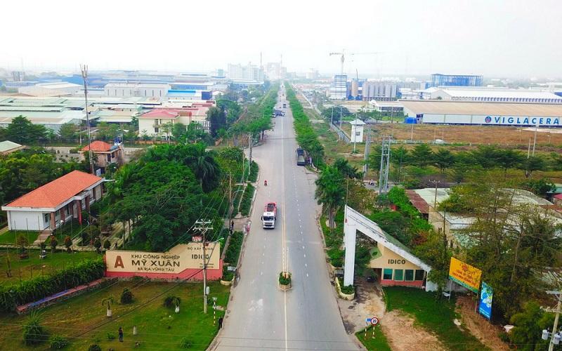 KCN Mỹ Xuân Tỉnh Bà Rịa Vũng Tàu