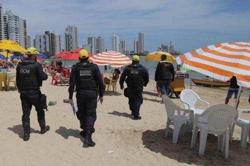 Guarda Municipal de Olinda segue com apoio e fiscalização durante o fim de semana