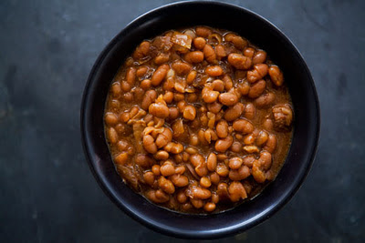 Slow Cooker Boston Baked Beans from Simply Recipes found on SlowCookerFromScratch.com