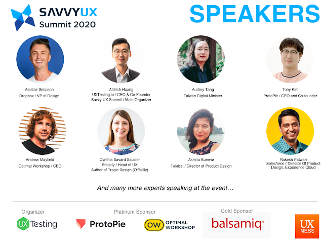 Savvy UX Summit 2020 Speakers