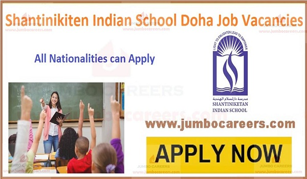 new school job openings in Qatar