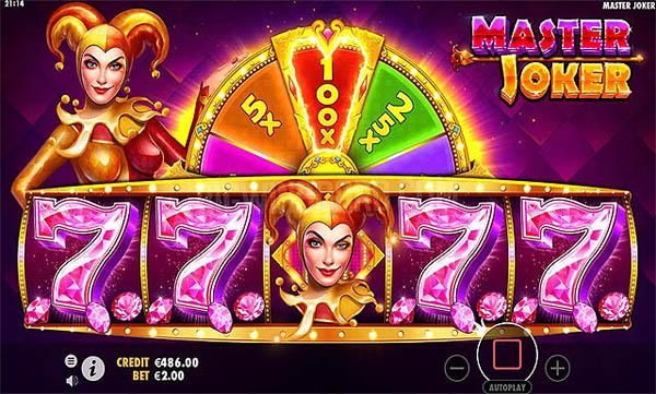 Main Gratis Slot Indonesia - Master Joker (Pragmatic Play)