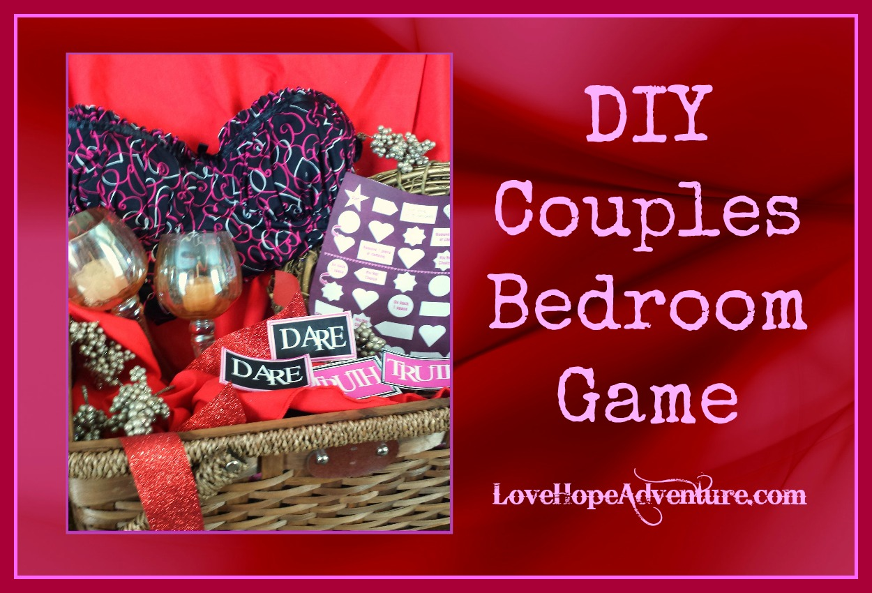 DIY Crafting Made Easy: DIY Couples Bedroom Game With Free