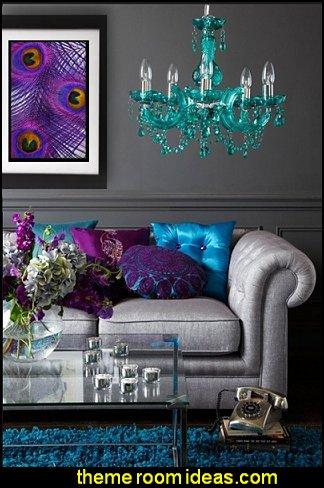 peacock themed decorating ideas peacock color scheme decorating ideas-