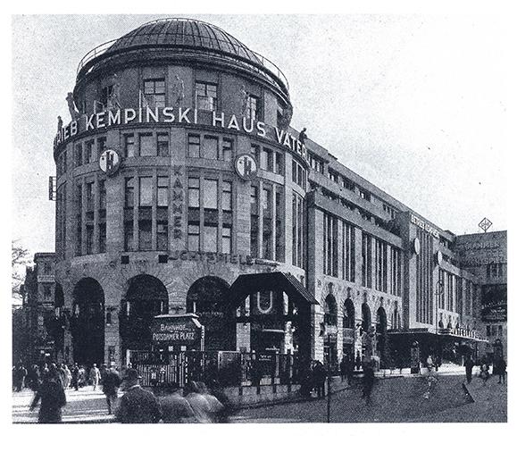 Отель Kempinski Haus Vaterland, Берлин, 1927 год