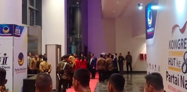 Akhirnya, Megawati Datang Di Kongres II Partai Nasdem