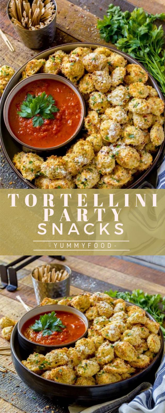 Tortellini party snack