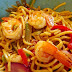 How to add Coconut Oil with Shrimp and Noodles for magic taste