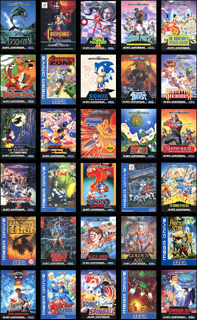 Sega Mega Drive Mini Complete Game List For Europe