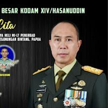 Pangdam Hasanuddin Ucapkan  Bela Sungkawa dan Berikan Santunan Pada 5 Prajurit Yonif  725 Woroagi Gugur Bersama Hely MI 17