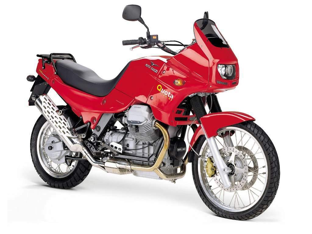 Moto Guzzi Quota 1100 ES Motorbike