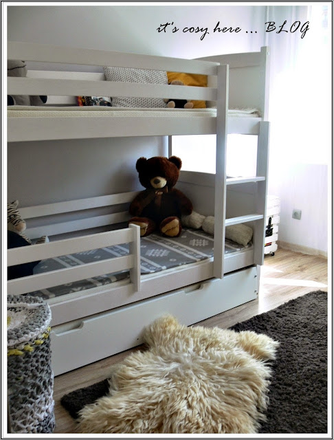 Boys' world: bunk bed... i szybkie DIY