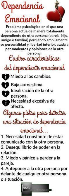 """""""Dependencia emocional"""" - Imagen"""