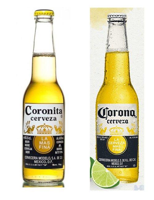 Coleccionismo cervecero La cerveza Coronita deja de existir