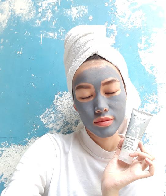 Wardah Mineral+ Clarifying Clay Mask