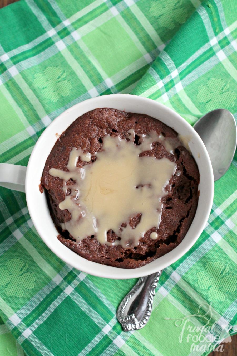 Nutella Brownie Mug Cake Recipe