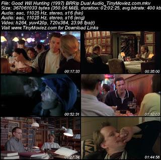 Good Will Hunting 1997 English Dvdscr Dual Audio Dvdrip Cinematune