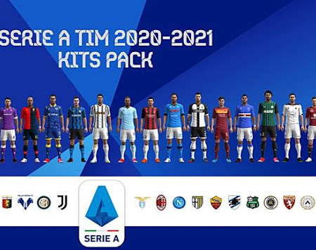 PES 2013 Serie A Kitpack 2020-2021