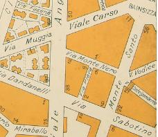 Mappa Via Plava Roma