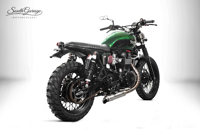 Triumph Scrambler By South Garage Motorcycles Hell Kustom