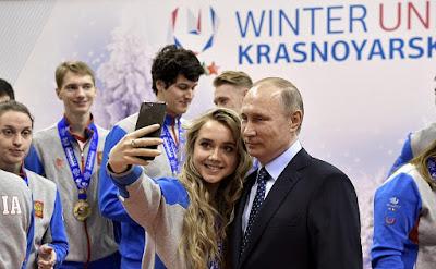 President Putin, sportsmen.