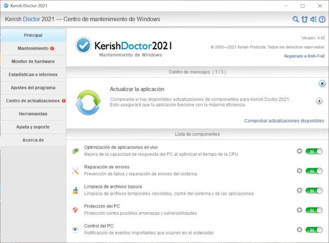 Kerish Doctor 2021 Descargar