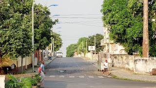 Streetview in Malabo