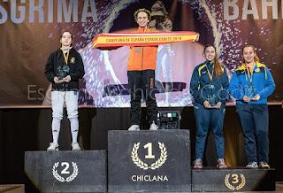 Beatriz Rangel Subcampeona de España