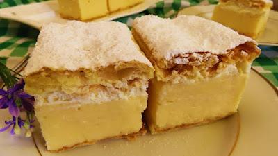 Kremšnite / Custard Cake / Cremeschnitte