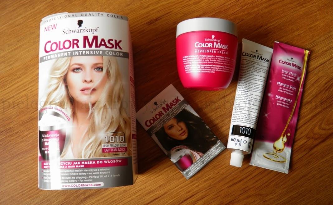 Schwarzkopf Color Mask 1010 recenzja
