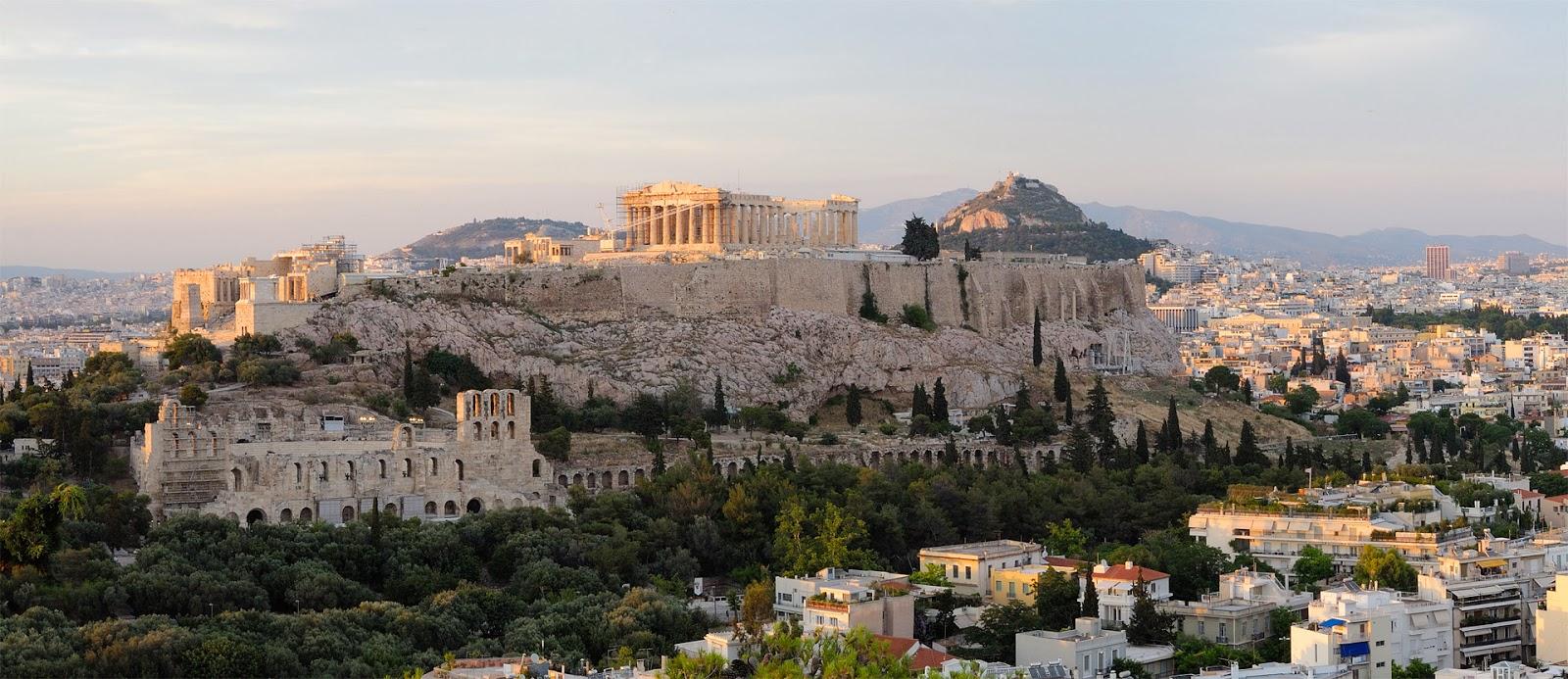 Estrutura da Acrópole, Atenas