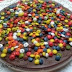 Tarta de Tres Chocolates con Lacasitos