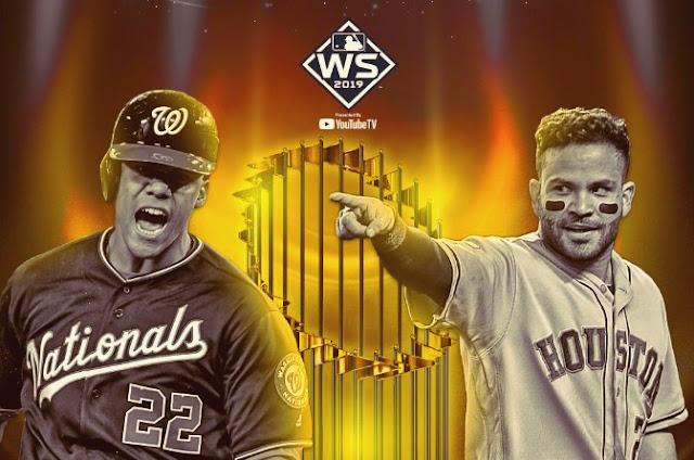 BÉISBOL: Nacionales y Astros disputarán final de la serie mundial MLB 2019.