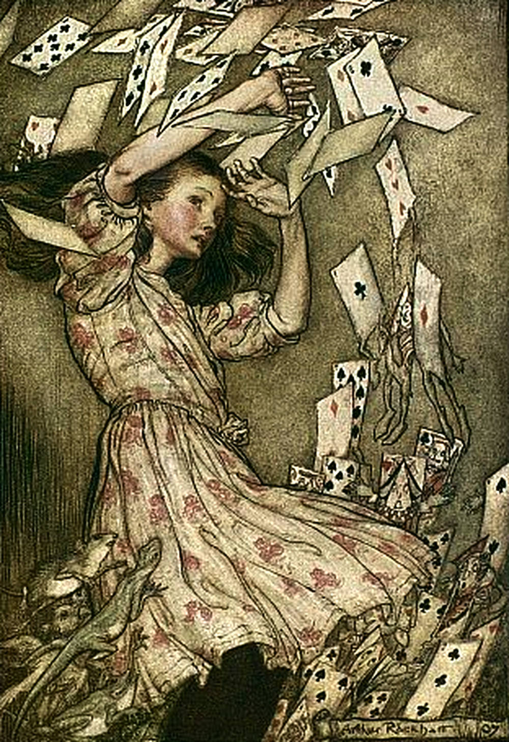 Cards Attack Alice Adventures in Wonderland